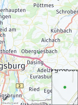 Here Map of Obergriesbach