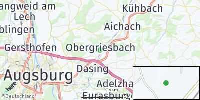 Google Map of Obergriesbach