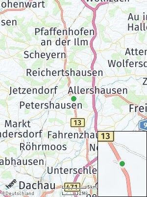 Here Map of Hohenkammer