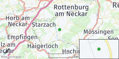 Google Map of Hirrlingen