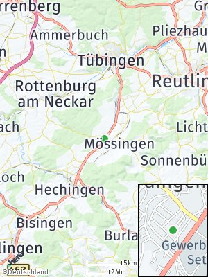 Here Map of Ofterdingen