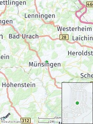 Here Map of Münsingen