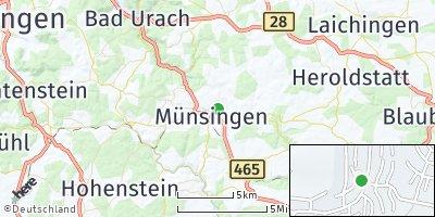 Google Map of Münsingen