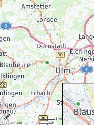 Here Map of Blaustein