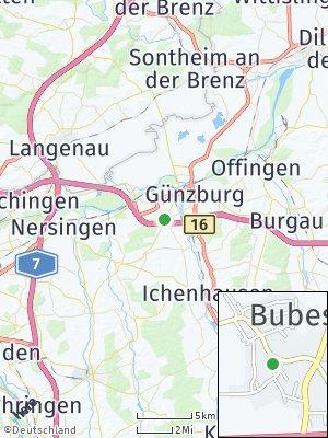 Here Map of Bubesheim