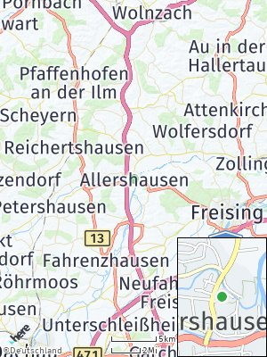 Here Map of Allershausen
