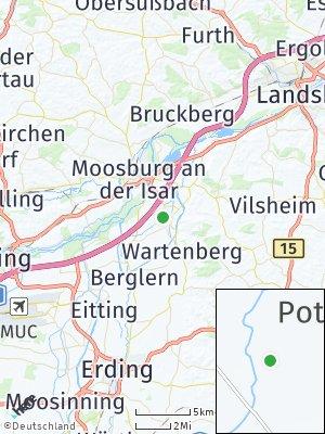 Here Map of Langenpreising