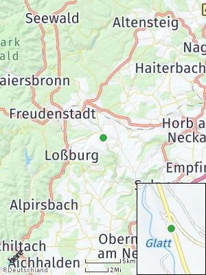 Here Map of Glatten