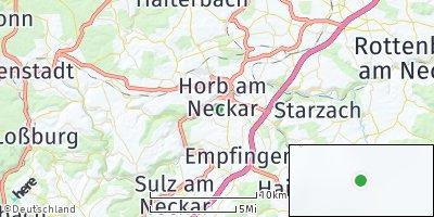 Google Map of Horb am Neckar