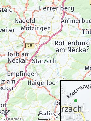 Here Map of Starzach
