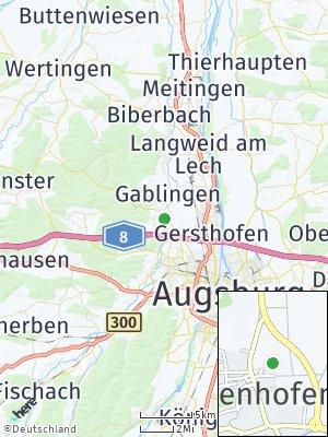 Here Map of Hirblingen