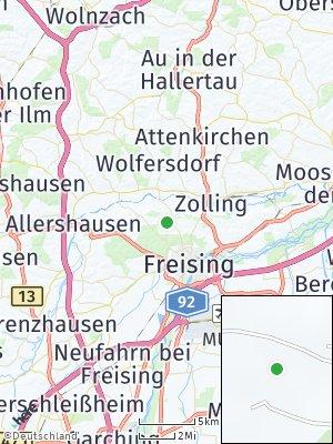 Here Map of Pettenbrunn