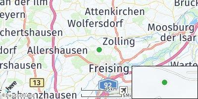 Google Map of Pettenbrunn