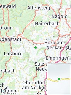 Here Map of Bittelbronn
