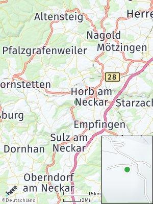 Here Map of Rexingen