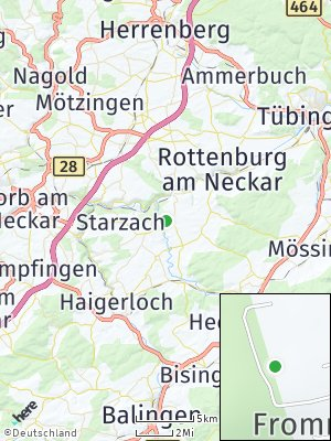 Here Map of Frommenhausen