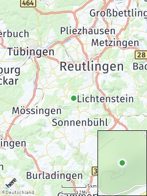Here Map of Gönningen