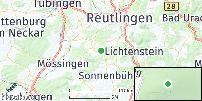 Google Map of Gönningen