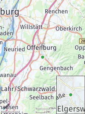 Here Map of Elgersweier