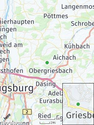 Here Map of Griesbeckerzell