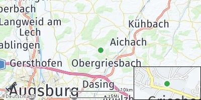 Google Map of Griesbeckerzell