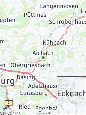 Here Map of Ecknach