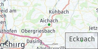 Google Map of Ecknach