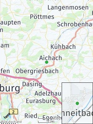 Here Map of Unterschneitbach