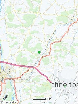 Here Map of Oberschneitbach
