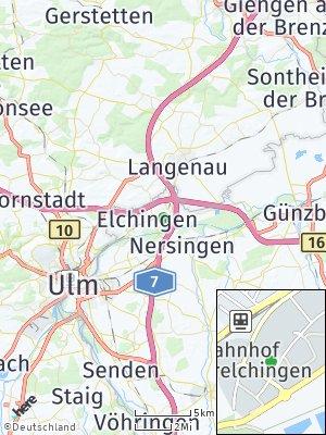 Here Map of Elchingen