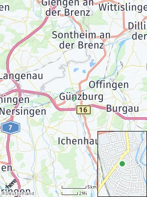 Here Map of Günzburg