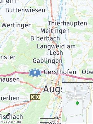Here Map of Gablingen