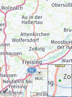 Here Map of Zolling