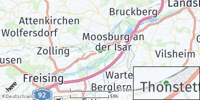 Google Map of Grünseiboldsdorf