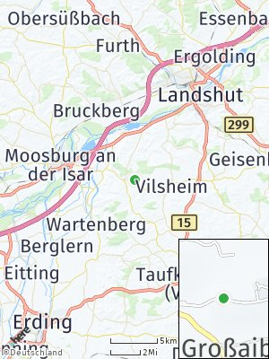 Here Map of Buch am Erlbach