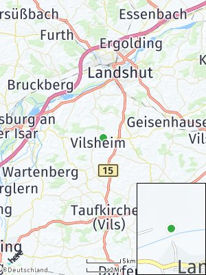 Here Map of Vilsheim