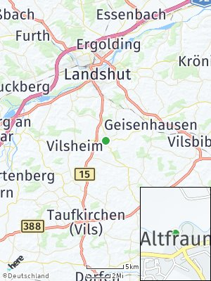 Here Map of Altfraunhofen