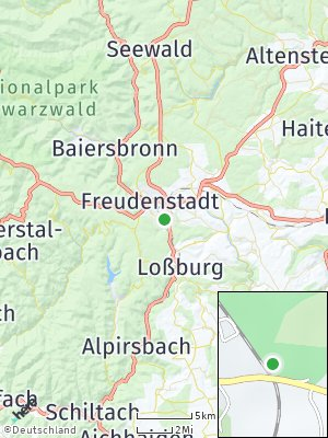 Here Map of Lauterbad
