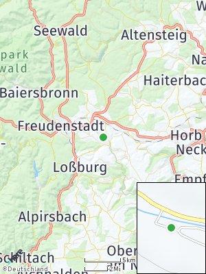 Here Map of Dornstetten