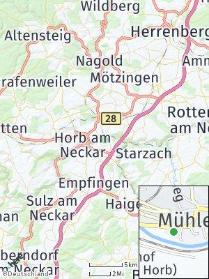 Here Map of Mühlen