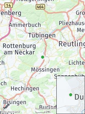 Here Map of Dußlingen