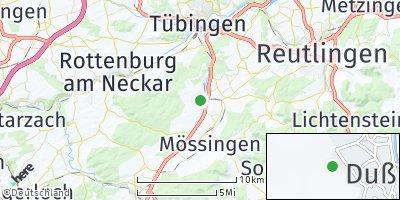 Google Map of Dußlingen
