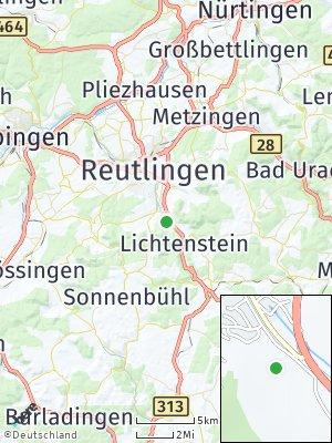 Here Map of Pfullingen