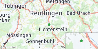 Google Map of Pfullingen