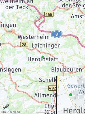 Here Map of Heroldstatt