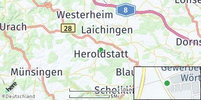 Google Map of Heroldstatt