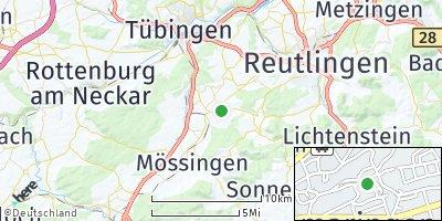 Google Map of Gomaringen