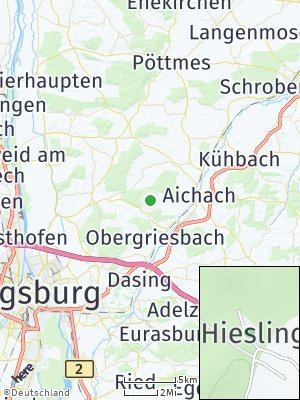 Here Map of Hiesling