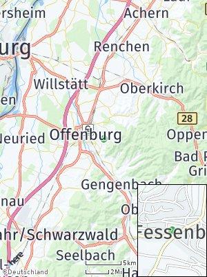 Here Map of Fessenbach