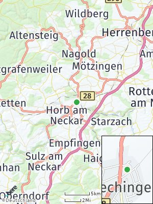Here Map of Bildechingen